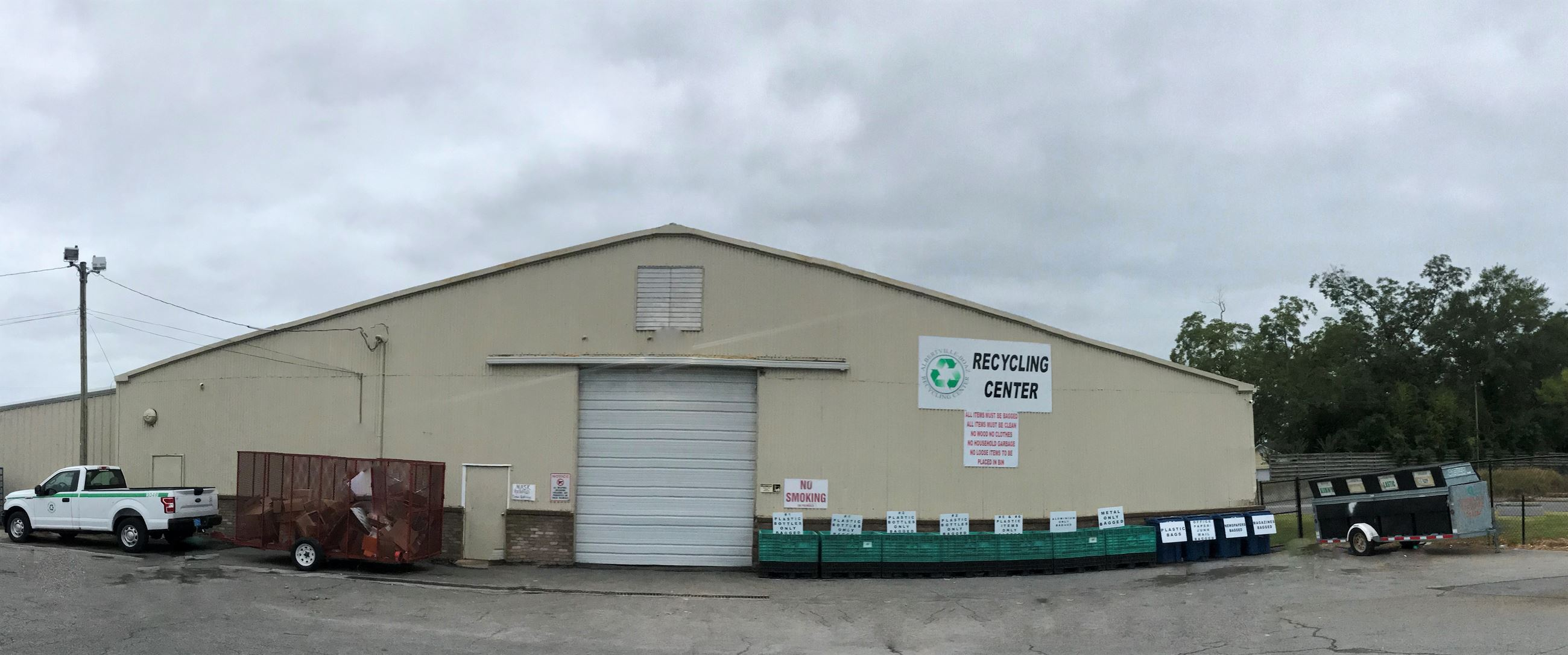 Recycle Center Front